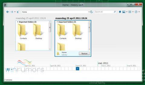 Windows 8 показан графический интерфейс