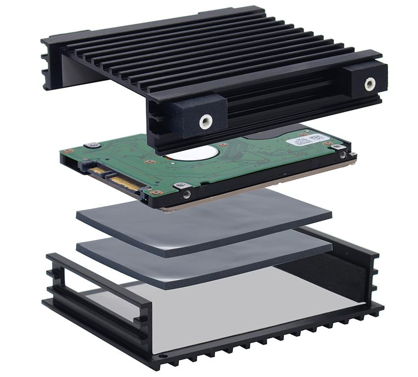 Система охлаждения Himuro Mini для жестких дисков