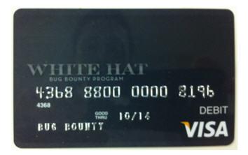 Facebook выпустил кредитные карточки для «белых» хакеров