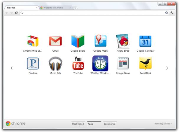 главная страница Google Chrome - фото 5