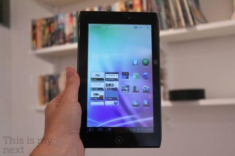 Первый 7-дюймовый планшет на Android Honeycomb