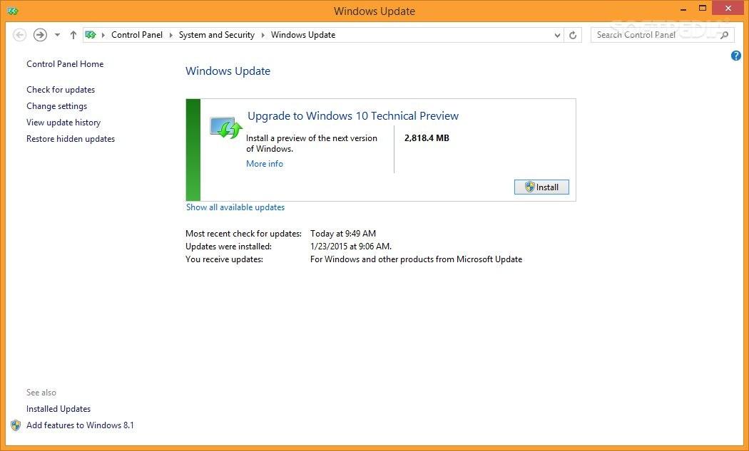 Windows 7 и 8.1 впервые можно автоматически обновить до ...
