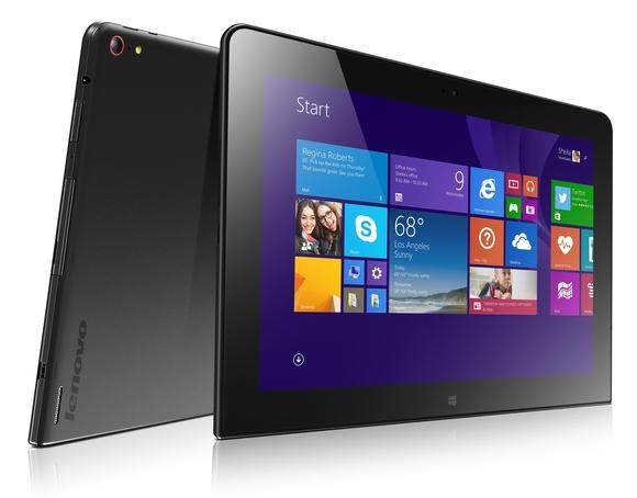 Lenovo предложила новый планшет корпоративного класса ThinkPad 10