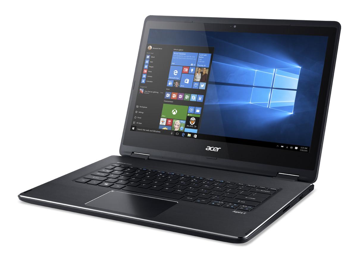 Acer представила моноблок Aspire Z3-700 и ноутбук-трансформер Aspire R14 на Windows 10
