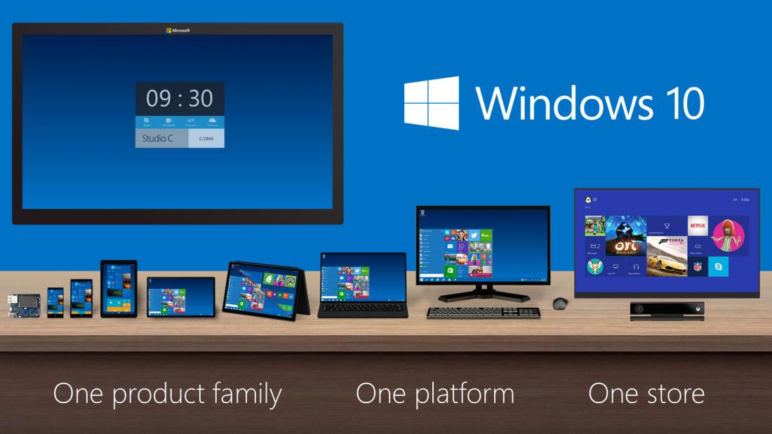 Microsoft масштабно обновляет Windows 10