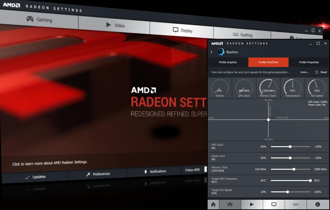 Ati amd radeon зависает установка обновление драйвера crimson.