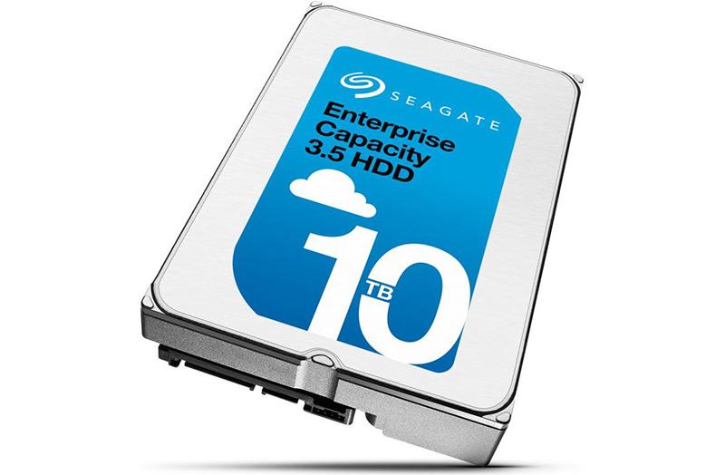 Seagate анонсировала NAS HDD на 8 Тбайт, а также 10-терабайтный Enterprise Capacity 3.5 HDD