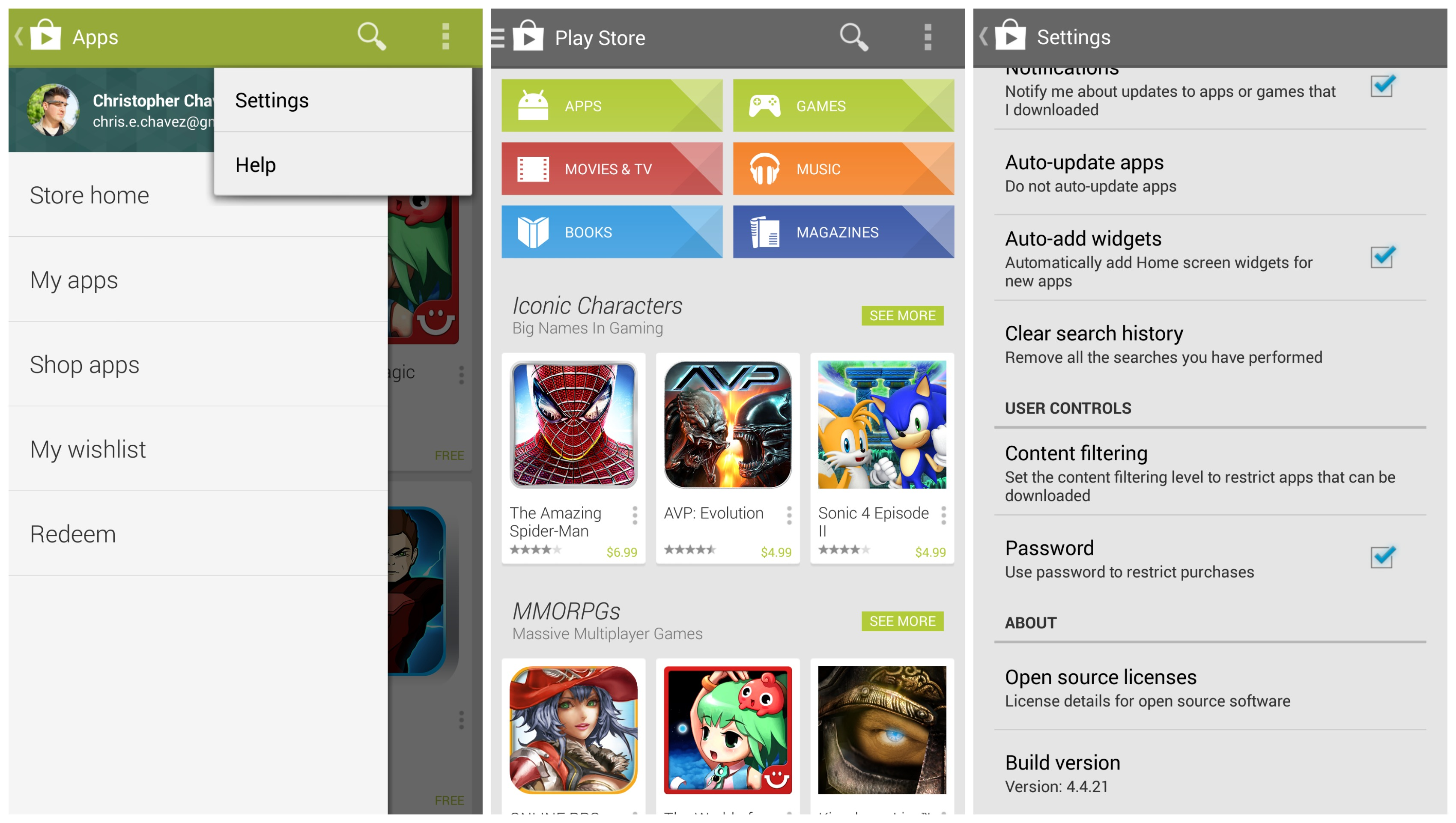 store play store
