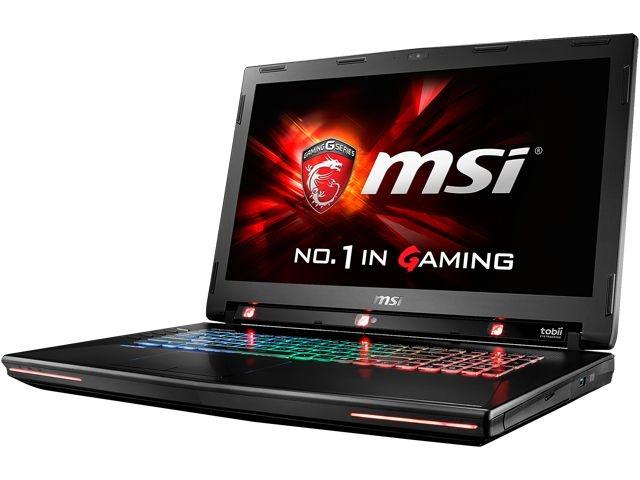 MSI начала продажи игрового ноутбука GT72S Tobii
