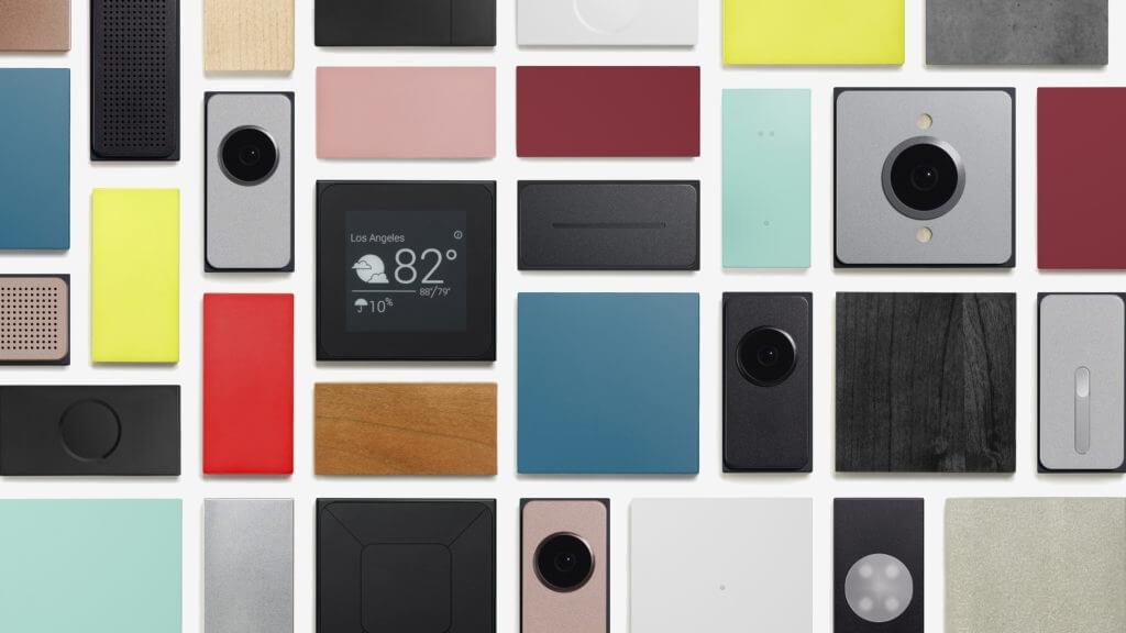 Google выпустит модульный смартфон Project Ara