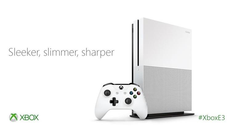 Microsoft представила Xbox One S #E32016