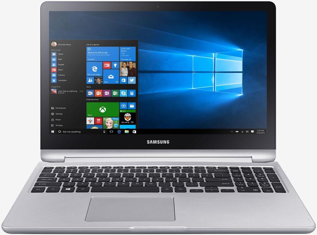 Самсунг выпускает ноутбук-перевертыш Notebook 7 Spin