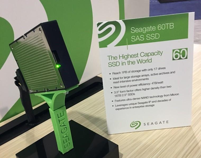 SSD на60 ТБотSeagate задал новейшую планку для носителей