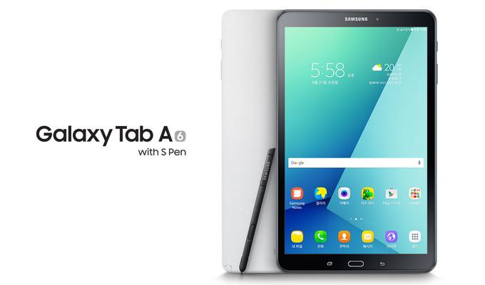 Самсунг выпустила планшет Galaxy Tab A (2016) спером SPen