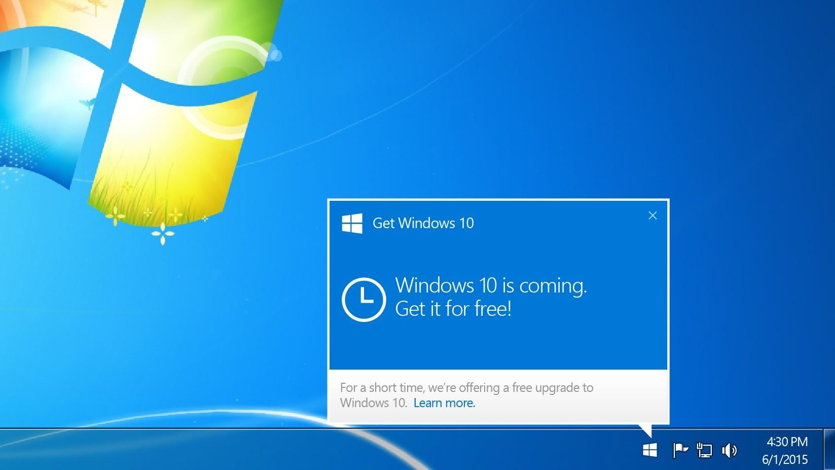 Microsoft вконце концов начала удалять приложение «Получить Windows»