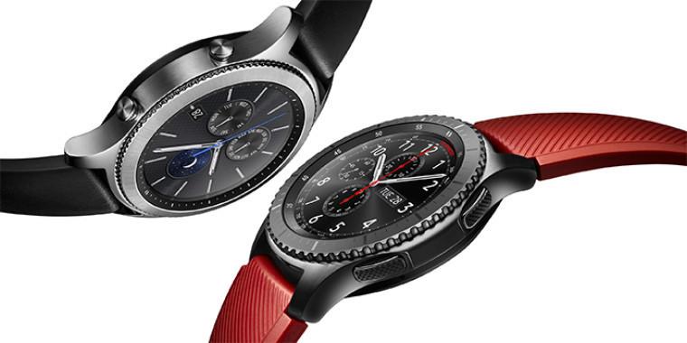 Самсунг начинает продажи смарт-часов Gear S3