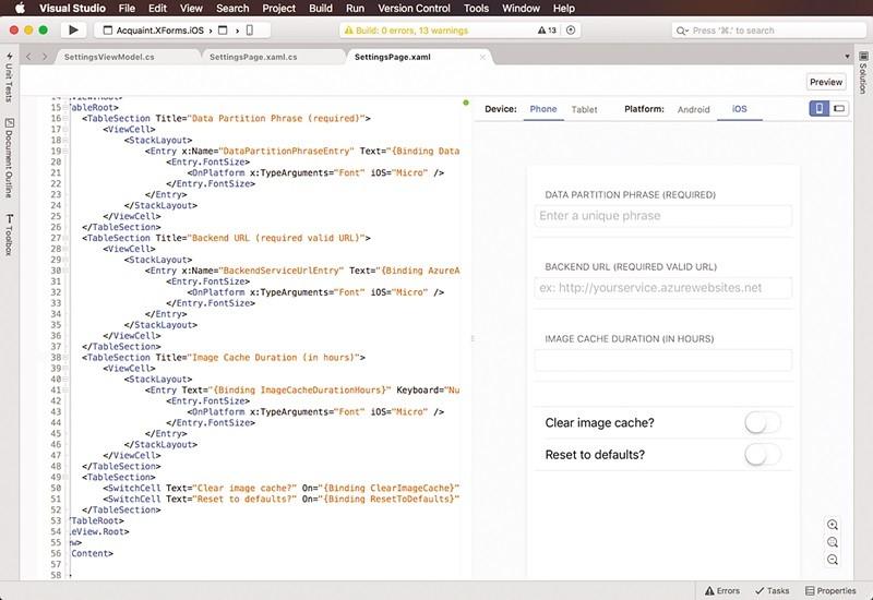 Visual Studio для Mac появится всередине ноября