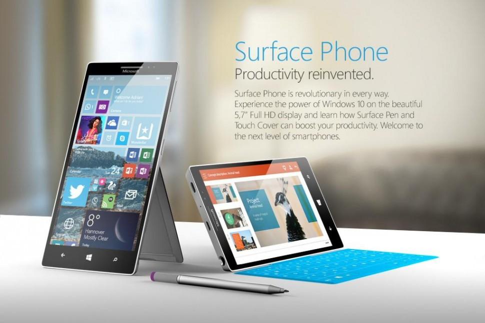 Свежая информация о смартфоне Surface Phone