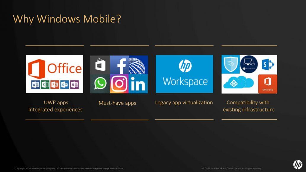 HPElite x3 под управлением Windows 10 Mobile появился на русском рынке