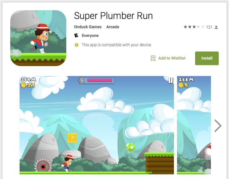 Популярная игра Super Mario Run будет доступна наiPhone иiPad