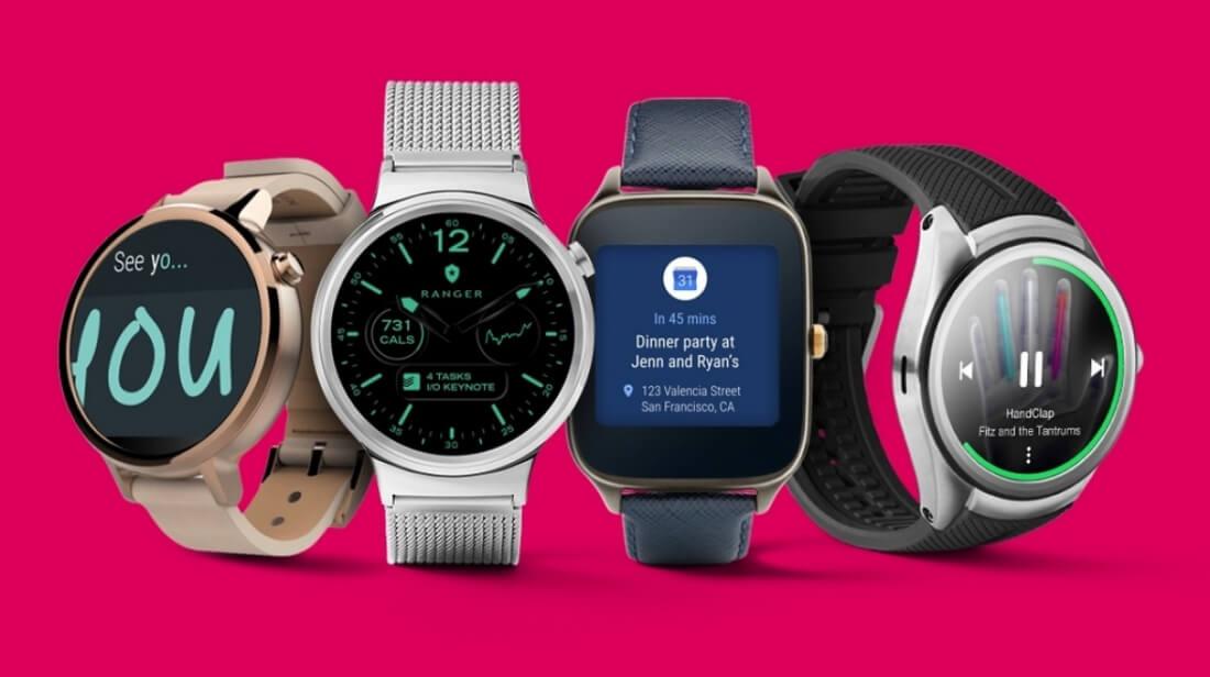 Google запустит пару флагманских смарт-часов с андроид Wear 2.0
