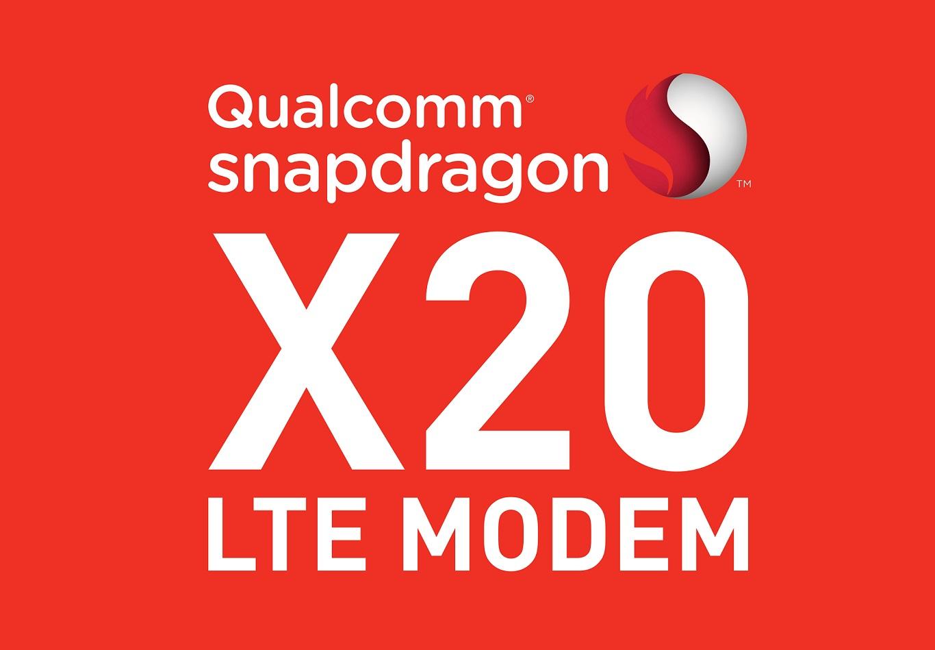 Модем Qualcomm X20 предлагает теоретическую скорость 1,2 Гбит/с