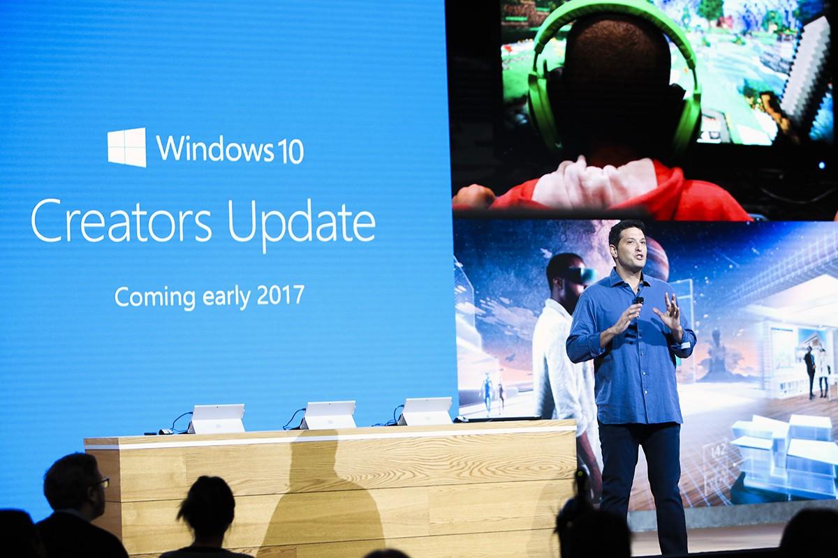 Обновление Creators Update для Windows 10 станет доступно 11 апреля