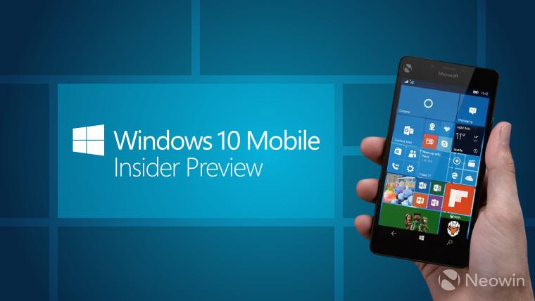 как установить мелодию звонка в windows 10 mobile insider preview