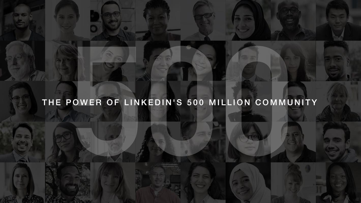 Число пользователей LinkedIn достигло 500 млн