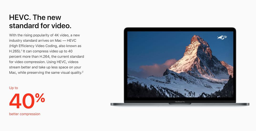 Apple анонсировала macOS High Sierra с новой файловой системой и поддержкой VR
