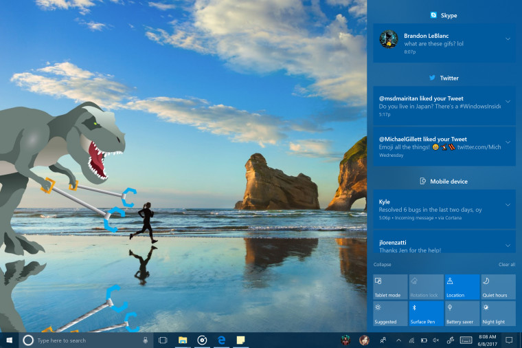 Microsoft значительно обновила Windows 10 впоследней тестовой сборке