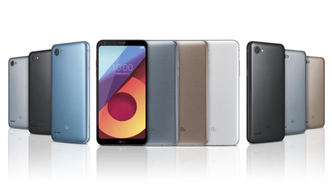 Анонсированы мобильные телефоны LGQ6, LGQ6+ иLG Q6a с экраном FullVision