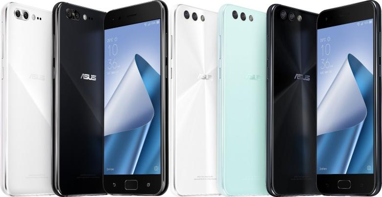 Asus представила шесть телефонов ZenFone 4