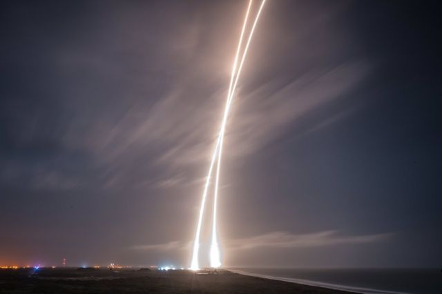 SpaceX CRS12 Falcon 9 launch amp landing 14 August 2017