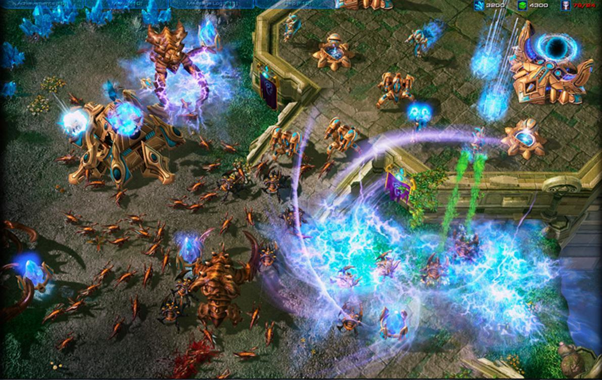 StarCraft 2 - гостевой пропуск (ключ) .