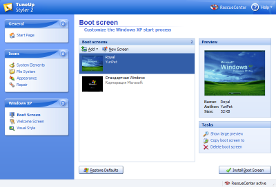 Boot Screens
