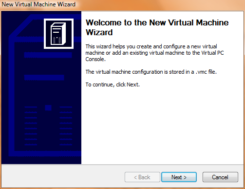 Virtual PC 2007