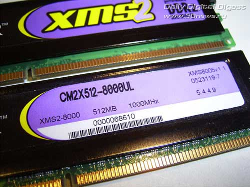 Corsair DDR2 TWIN2X1024-8000UL1