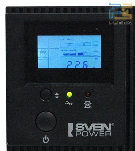 Обзор уникального источника бесперебойного питания Sven Smart L 2000.
