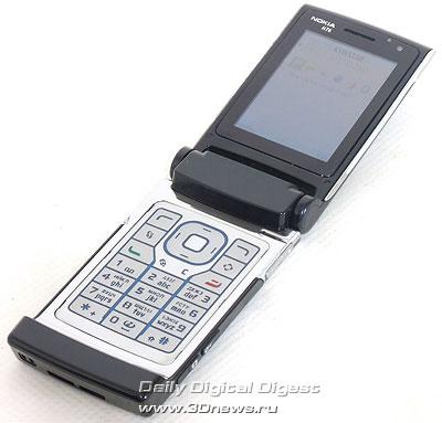 Nokia N76. Вид общий