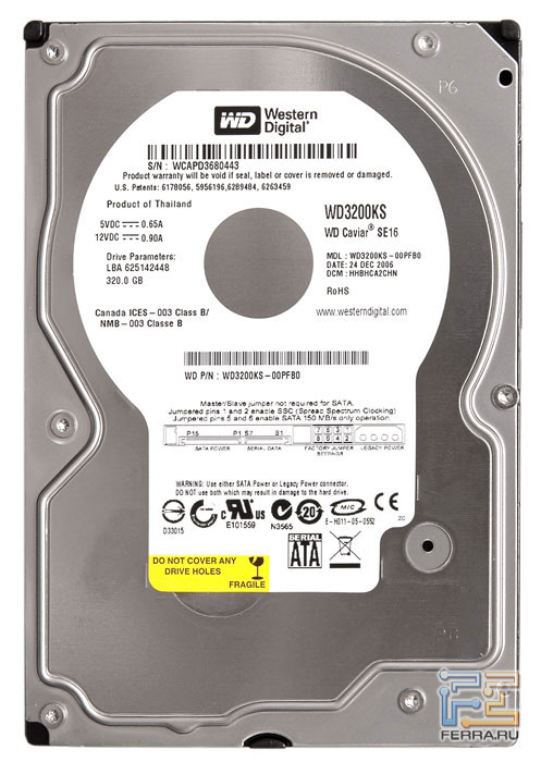 Western Digital WD3200KS 2