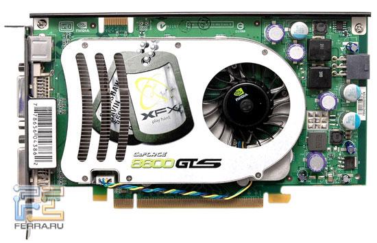 XFX GeForce 8600 GTS 256MB 1