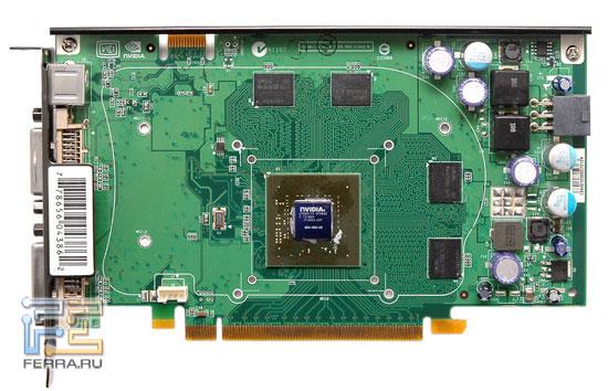 Печатная плата XFX GeForce 8600 GTS 256MB