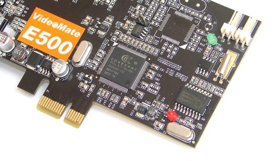 Compro VideoMate E500 PCI E