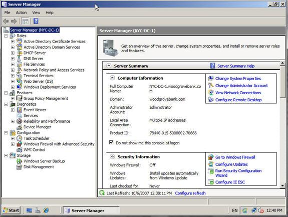 оснастка консоли управления на windows 7