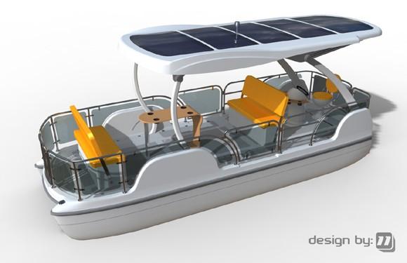 мотор с вентилятором для лодки
