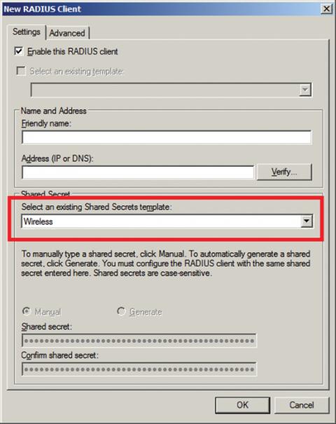 Как сделать radius сервер
