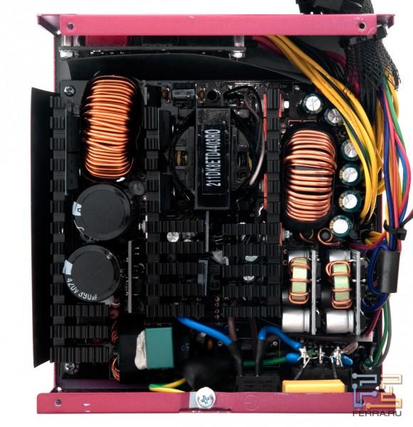 схему блока питания компьютерного.