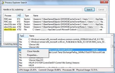 Как определить программу, использующую файл